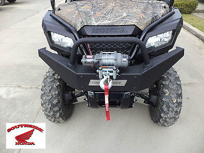 Strong Made Winch Series Front Bumper W/ Winch Mount Honda Sxs500 Pioneer 500