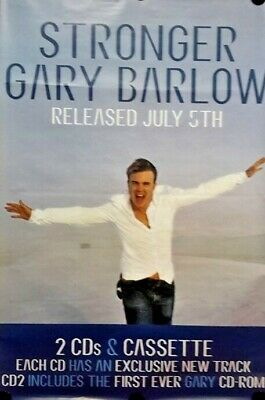 Take That-Gary Barlow.Orig.Giant Promo Poster Stronger FREE INT SHIPPING