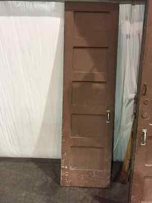 Vintage Brown Door
