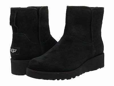 Women's Shoes UGG Classic Slim Kristin Mini Boots 1012497 Black *New*