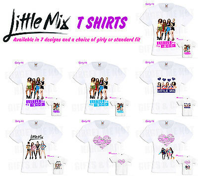 Little Mix T Shirt 2018 Tour in 7 designs all sizes Boys + Girls
