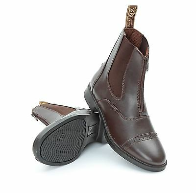 Adult Harvies Paddock Boots Horse Riding Footwear Stable Yard