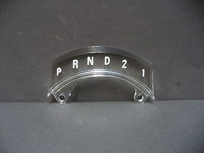 ford truck shift indicator 3 speed automatic f100 f250 f350 67 68 69 70 71  72