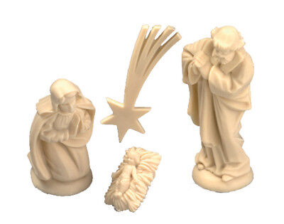 Mini Christmas Christian Nativity Scene with Stand to Decorate