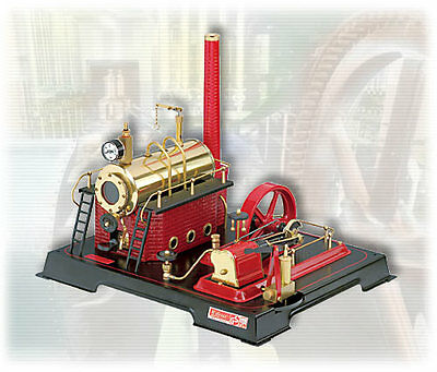 AU SPECIAL: Wilesco D21 TOY STEAM ENGINE - SEE VIDEO - NEW - FREE SHIPPING