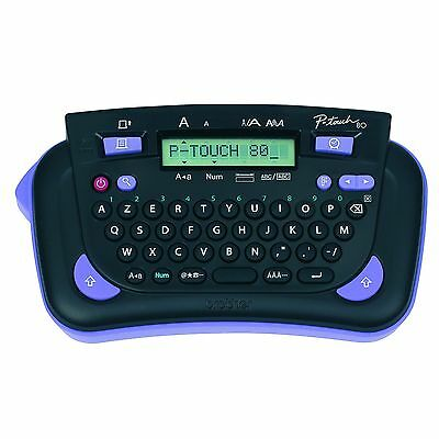 Brother PT80H Handheld Battery Powered P-Touch Label Maker Printer Machine