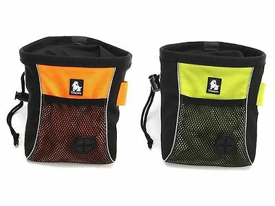 Truelove Portable Travel Dog Snack Treating Training Clip-on Pouch Bag Green S