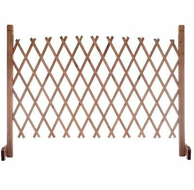 New 35.5 in. Wood Decorative Yard Garden Extend Fence Instant Home Fencing