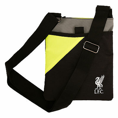 Liverpool FC  LFC Neon Black Small Items Bag Official
