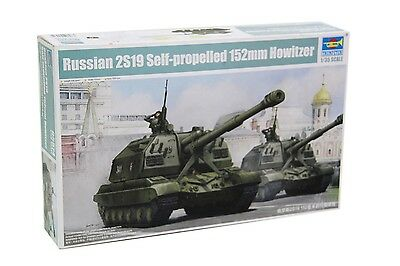 Russian 2S19 Self-propelled 152mm Howitzer · Trumpeter · Maßstab 1:35