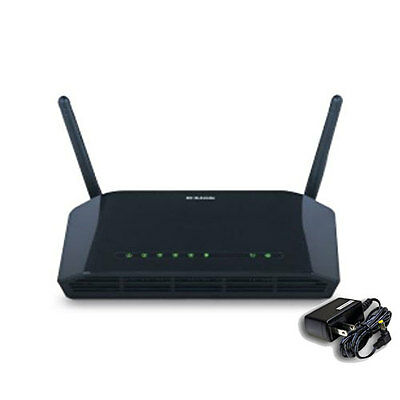 D-Link DSL-2740B All-In-One ADSL2+ Modem Wireless N 270 Mbps Router DSL