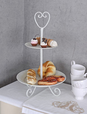Kitchen Plate Country Style Whatnot Floor Plates Metal Stand Cupcakes Stand