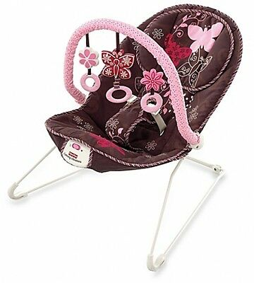 Bouncer Baby Fisher Price Seat Infant New Deluxe Comfort Little Rocker Chair
