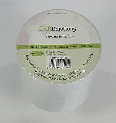EasyConnect Craft tape Stanzhilfe Klebeband 100 mm CraftEmotions 119491/0100