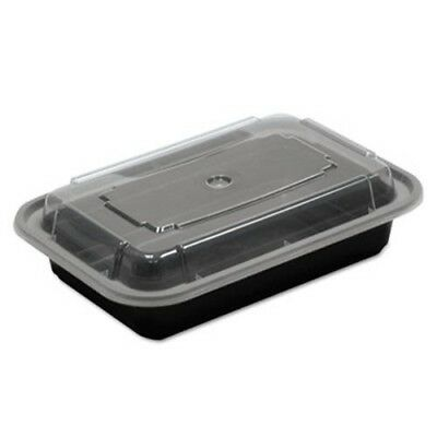 16-oz. Versatainer Rectangular Food Containers, 150 Containers (PCTNC8168B)
