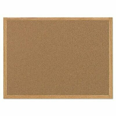 Mastervision Cork Bulletin Board with Oak Frame, 24 x 36 (BVCMC070014231)