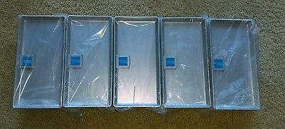 25 American Express Silver Plastic Tip Trays Check Presenters-BRAND NEW-