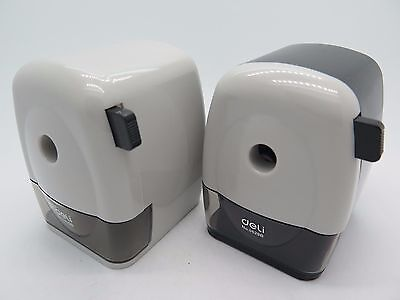 1 x Deli Mechanical Pencil Sharpener w Desk Clamp 0629B# HOT PRICE.