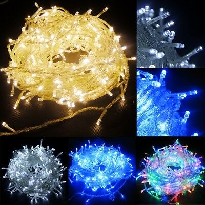 20/30/100/200/300/500/1000 LED Christmas Lights Xmas Outdoor Fairy String Lights