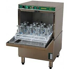 Eswood Compact Deluxe Free Standing Automatic Glass Washer IW-3N DELUXE