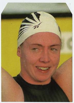 Scarce Trade Card of Michelle Smith, Swimming 1997
