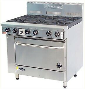 Goldstein Ranges - Gas 6 Burner - High Speed Pure Electric Convection Oven Pfc-6