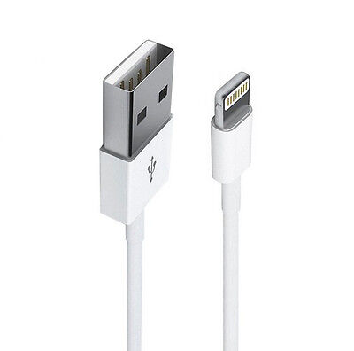 for iPhone 5 5S 6 6s Plus Lightning USB Data Cable Charger wire 1m $3.49 for 2