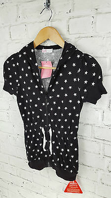 BNWT Girls Free Spirit Star Hooded Sweat Top Age 11 - 12 Years