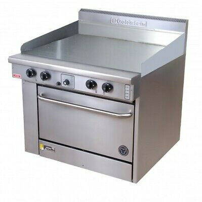 Goldstein Ranges - Gas Griddle Plate - 500Mm Static Ovens (Natural Convection) P