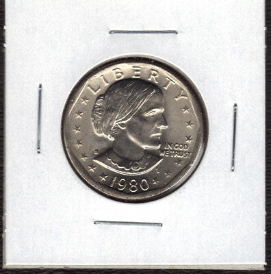 1980-S Uncirculated  Susan B Anthony Dollar