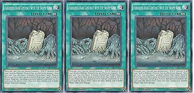 Dark Contract with the Swamp King DOCS-EN094 Common Yu-Gi-Oh Card 1st Edition