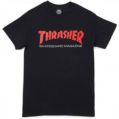 Thrasher Magazine - T Shirt Black Resurrection - S M L Xl - Satan  New Real Tee