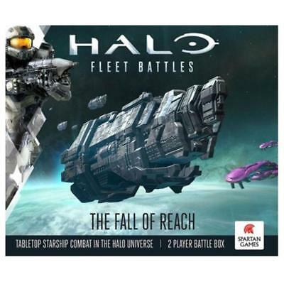 Halo Fleet Battles The Fall Of Reach Board Game