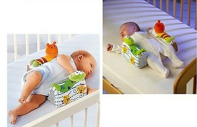 Anti-Rollover Safe Cotton Anti Roll Support Pillow Cute Cartoon Baby Positioner