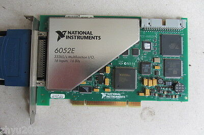1pcs Used National Instruments Data Acquisition Card NI PCI-6052E Tested