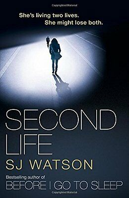 Second Life by S J Watson New Paperback Book