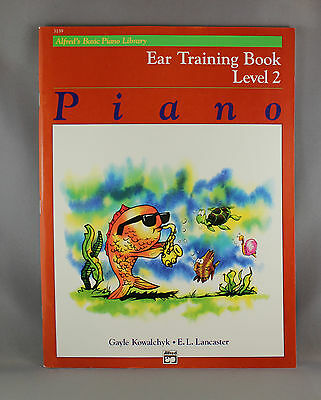 Alfred's Basic Piano Library Ear Training Book Level 2 - Brand New