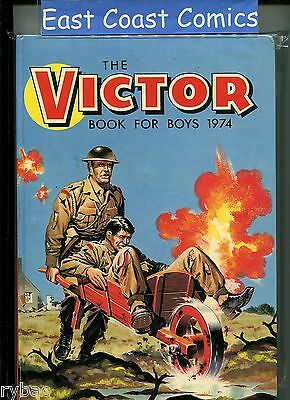 The Victor Book For Boys Annual 1974 - Very Fine/near Mint