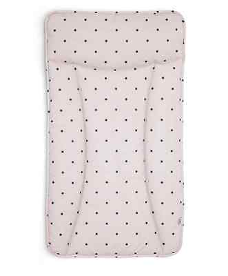 Mamas and Papas Changing Mat / Mattress in Mini Pink Star   Essentials Pvc  BNIP