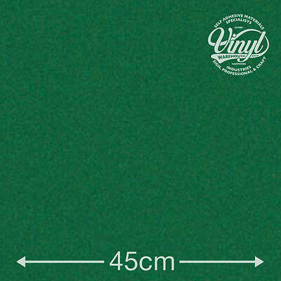 Green Baize Felt Self Adhesive Vinyl Fablon - 45cm wide sold by the metre