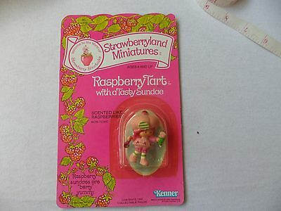 Strawberry Shortcake Vintage Miniatures Raspberry Tart Keener In 1982