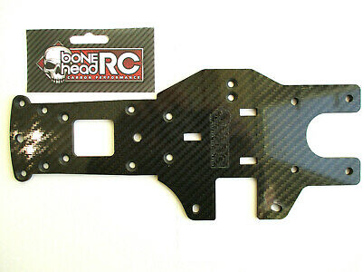 CARBON REAR CHASSIS , 4MM CNC MACHINED,  (Ref 87482) FOR HPI BAJA 5B/SS/5T