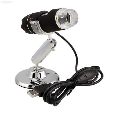 2MP 1000X 8LED USB Digital Microscope Endoscope Zoom Camera Magnifier +Stand