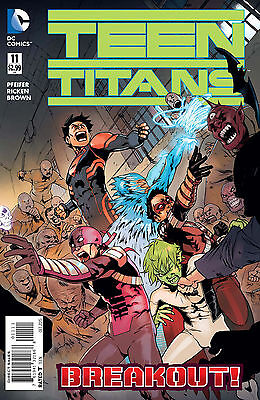 Teen Titans #11 Dc Comics