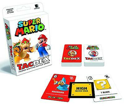 Super Mario Tacdex Power Shifting Battle Cards Usaopoly Card Game