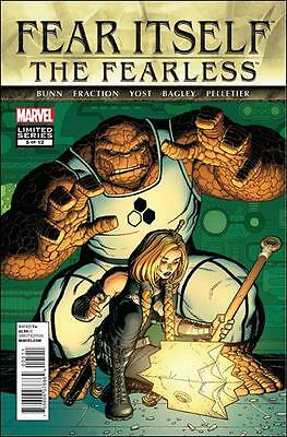 Fear Itself The Fearless #5 (Of 12) Marvel Comics