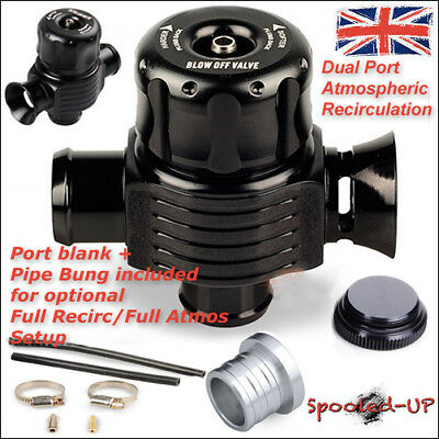 25Mm Dual Port Turbo Bov Atmospheric - Recirculating Divert Dump Blow Off Valve