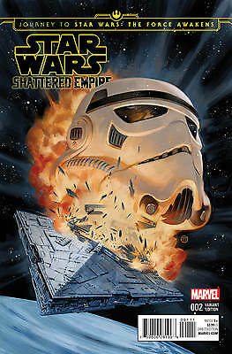 Journey To Star Wars The Force Awakens Shattered Empire #2 (Of 4) Exclusive Dhc