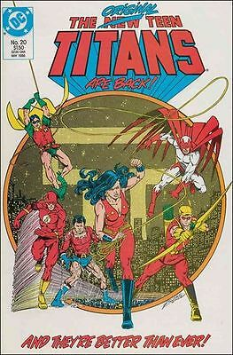 The New Teen Titans #20 Dc Comics 1984