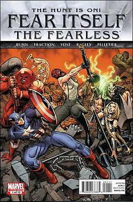 Fear Itself The Fearless #1 (Of 12) First Printing Marvel Comics